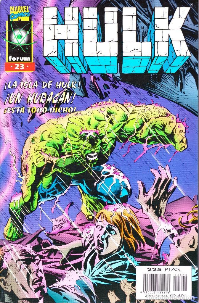 Cómics: HULK. VOL 2. 1 AL 24. COMPLETA. 1996 FORUM PLANETA - Foto 23 - 144223278