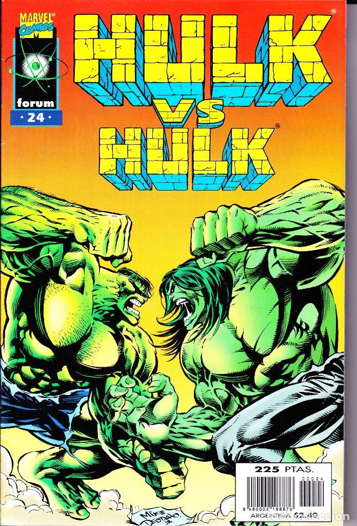 Cómics: HULK. VOL 2. 1 AL 24. COMPLETA. 1996 FORUM PLANETA - Foto 24 - 144223278