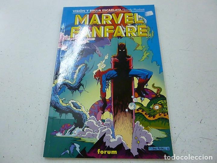 MARVEL FANFARE VISION Y BRUJA ESCARLATA FORUM-N (Tebeos y Comics - Forum - Otros Forum)