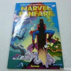 Cómics: MARVEL FANFARE VISION Y BRUJA ESCARLATA FORUM-N. Lote 144258062