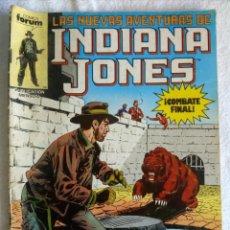 Cómics: LAS NUEVAS AVENTURAS DE INDIANA JONES Nº 20 COMICS FORUM 80'S. Lote 144341154