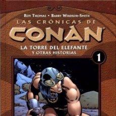 Cómics: LAS CRÓNICAS DE CONAN - Nº 1 FORUM - ROY THOMAS / WINDSOR SMITH - STOCK LIBRERIA NUEVO A ESTRENAR !. Lote 144383446