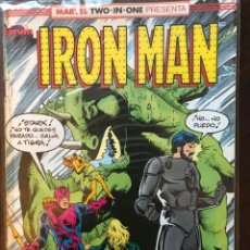 Cómics: IRON MAN CAPITAN MARVEL MARVEL TWO IN ONE 41 FORUM MARVEL COMICS. Lote 144435030