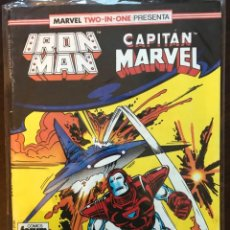 Cómics: IRON MAN CAPITAN MARVEL MARVEL TWO IN ONE 46 FORUM MARVEL COMICS. Lote 144442514