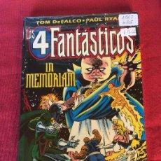 Cómics: FORUM LOS 4 FANTASTICOS IN MEMOREIAM MUY BUEN ESTADO REF.1067. Lote 144696262