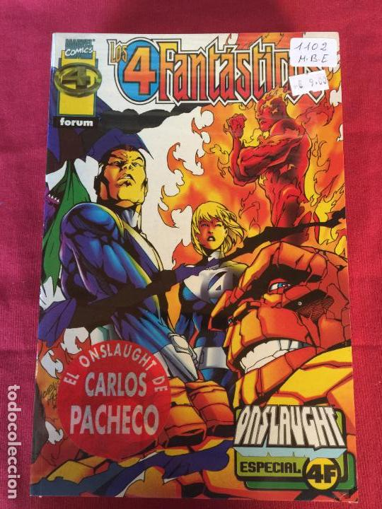 FORUM LOS 4 FANTASTICOS ONSLAUGHT MUY BUEN ESTADO REF.1102 (Tebeos y Comics - Forum - Prestiges y Tomos)
