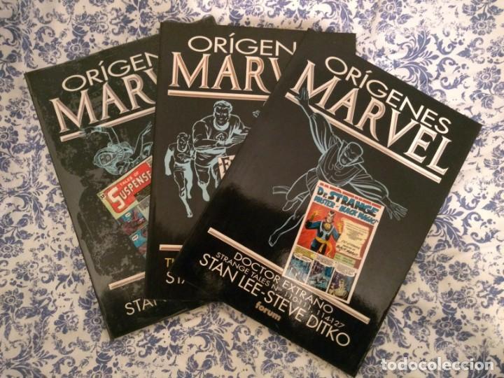 LOTE ORÍGENES MARVEL: FANTASTIC FOUR, DR STRANGE Y IRON MAN (Tebeos y Comics - Forum - Prestiges y Tomos)