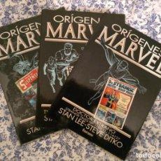Cómics: LOTE ORÍGENES MARVEL: FANTASTIC FOUR, DR STANGE Y IRON MAN. Lote 144841046