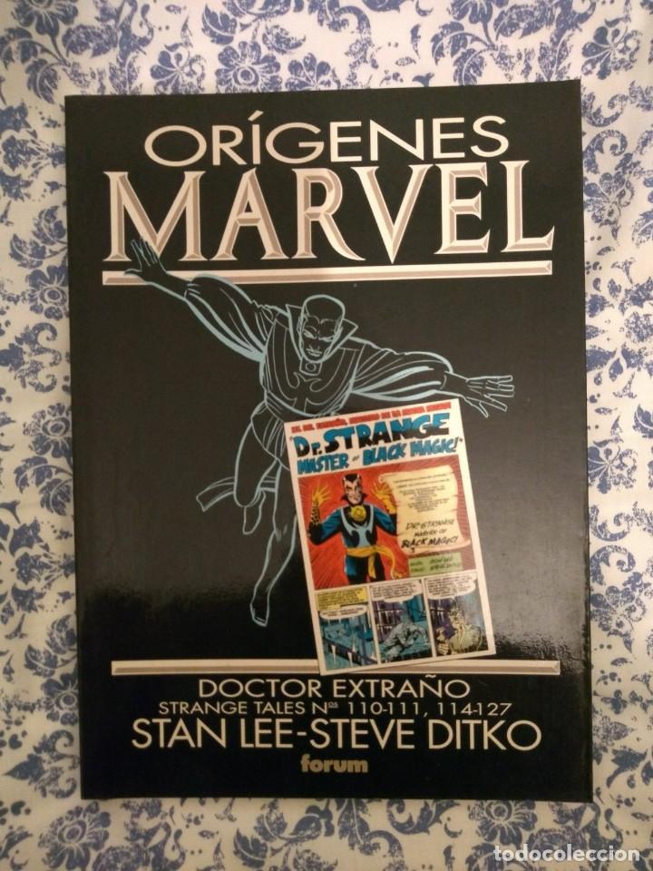 Cómics: Lote Orígenes Marvel: Fantastic Four, Dr Strange y Iron Man - Foto 2 - 144841046