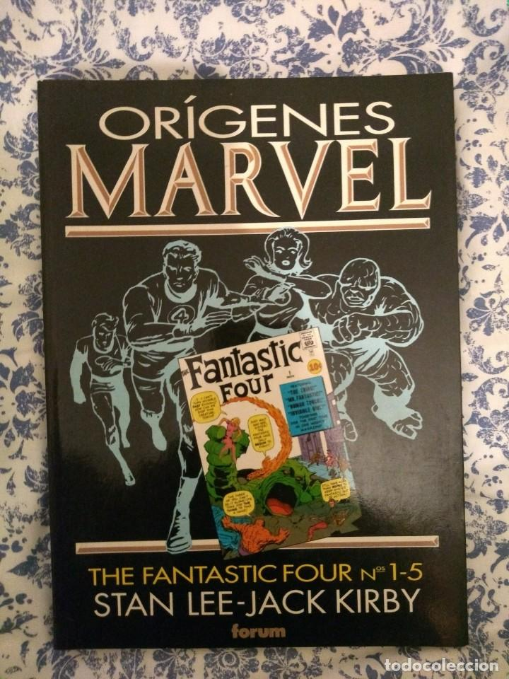 Cómics: Lote Orígenes Marvel: Fantastic Four, Dr Strange y Iron Man - Foto 3 - 144841046