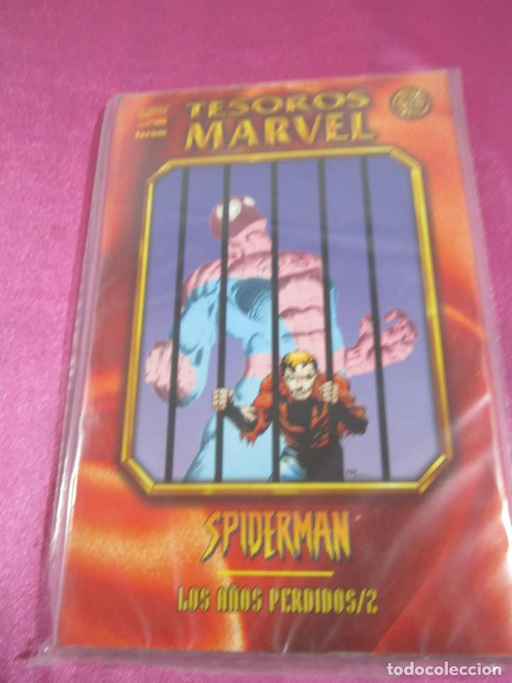 SPIDERMAN TESOROS MARVEL LOS AÑOS PERDIDOS FORUM 2 TOMOS EXCELENTE C57 (Tebeos y Comics - Forum - Prestiges y Tomos)