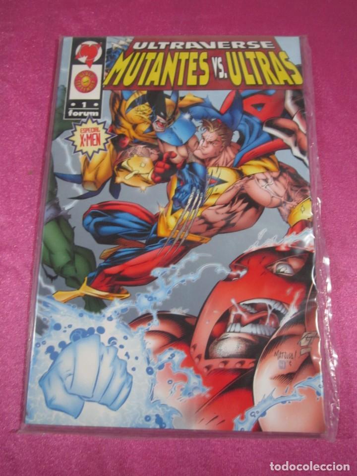ULTRAVERSE: MUTANTES VS ULTRAS Nº 1. FORUM TOMO EXCELENTE C57 (Tebeos y Comics - Forum - Prestiges y Tomos)