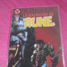 Cómics: LA MALDICIÓN DE RUNE FORUM TOMO EXCELENTE C58. Lote 144889578