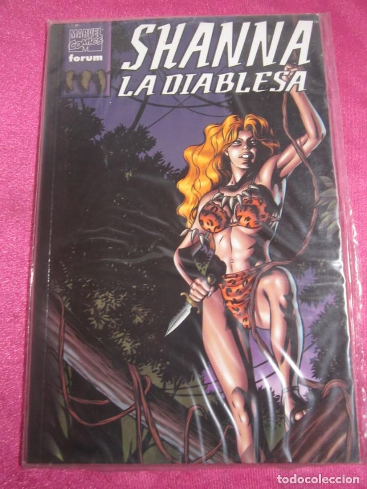 SHANNA LA DIABLESA FORUM EXCELENTE C58 (Tebeos y Comics - Forum - Prestiges y Tomos)