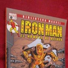 Comics: BIBLIOTECA MARVEL. IRON MAN.EL HOMBRE DE HIERRO. Nº 1.OFERTA. Lote 145185650