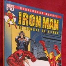 Comics: BIBLIOTECA MARVEL. IRON MAN.EL HOMBRE DE HIERRO. Nº 2.OFERTA. Lote 145185702