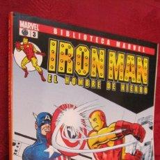 Comics: BIBLIOTECA MARVEL. IRON MAN.EL HOMBRE DE HIERRO. Nº 3.OFERTA. Lote 145185818