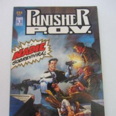 Cómics: PUNISHER P.O.V. Nº 1 JIM STARLIN Y BERNIE WRIGHTSON FORUM BUEN ESTADO VSD01. Lote 145220318