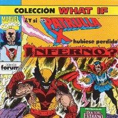 Comics: WHAT IF VOL.1 Nº25 - ¿Y SI LA PATRULLA-X HUBIESE PERDIDO INFERNO? - FORUM. Lote 145312642