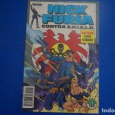 Cómics: CÓMIC DE NICK FURIA CONTRA SHIELD AÑO 1989 Nº 1 EDICIONES FORUM LOTE 9 BIS. Lote 145329638