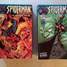 Cómics: SPIDERMAN VOL. 6 / SPIDERMAN EL HOMBRE ARAÑA - LOMO AZUL (2002-2006) COMPLETA. Lote 145351102