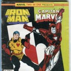 Cómics: IRON MAN CAPITAN MARVEL Nº 52. Lote 145382546