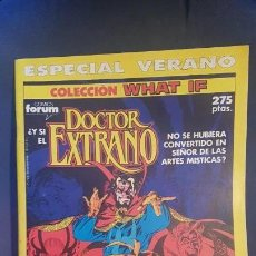 Cómics: WHAT IF: ESPECIAL VERANO - Y SI EL DOCT. EXTRAÑO NO HUBIESE SIDO DE LAS ARTES MISTICAS? - FORUM. Lote 145391614