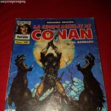 Cómics: CÓMICS CONAN EL BÁRBARO N° 109 COMICS FORUM. Lote 145427541