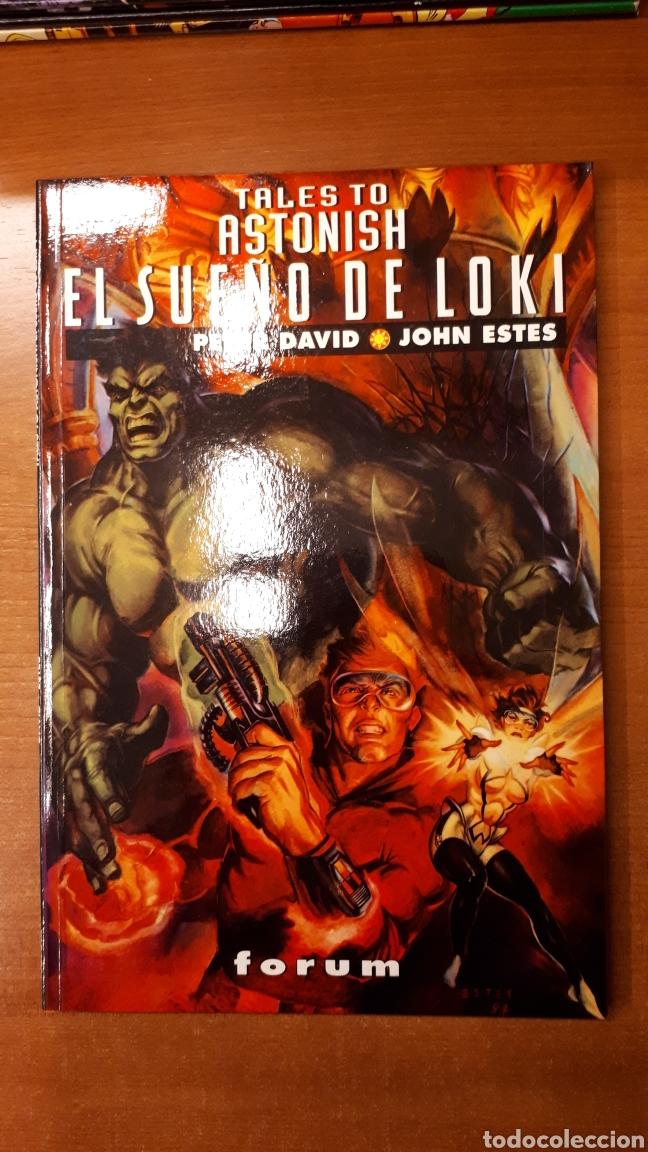 EL SUEÑO DE LOKI - PETER DAVID · JOHN ESTES - COLECCIÓN PRESTIGIO VOL 2 5 (Tebeos y Comics - Forum - Prestiges y Tomos)