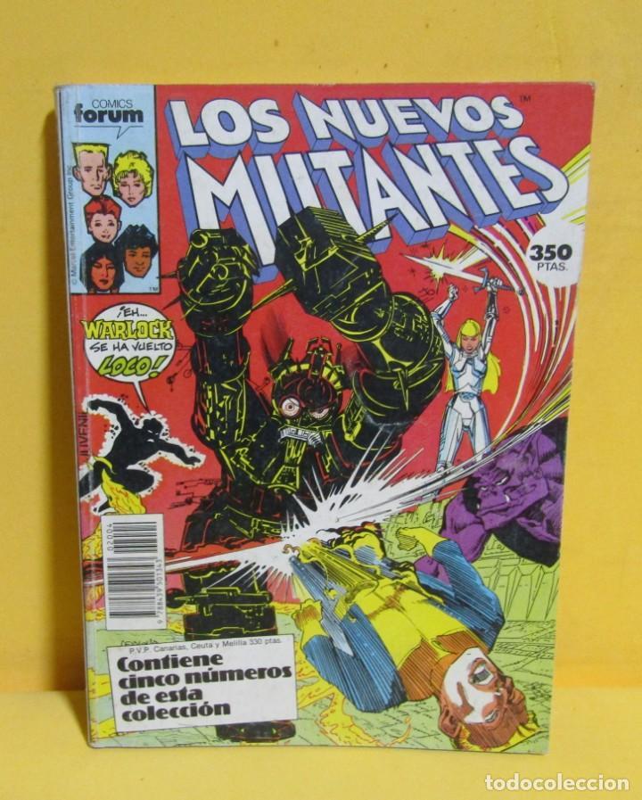LOS NUEVOS VENGADORES RETAPADO FORUM COMICS. CONTIENE LOS NUMEROS DEL 31 AL 35 AÑO 1987 (Tebeos y Comics - Forum - Nuevos Mutantes)