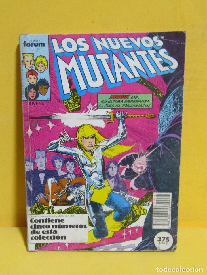 LOS NUEVOS VENGADORES RETAPADO FORUM COMICS. CONTIENE LOS NUMEROS DEL 36 AL 40 AÑO 1987 (Tebeos y Comics - Forum - Nuevos Mutantes)