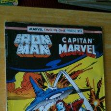 Cómics: FORUM. IRON MAN Y CAPITAN MARVEL Nº46. Lote 147687378