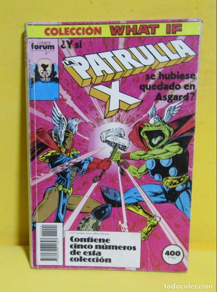 PATRULLA X COMICS FORUM CONTIENE DEL Nº16 AL Nº 20 AÑOS 80 (Tebeos y Comics - Forum - Retapados)
