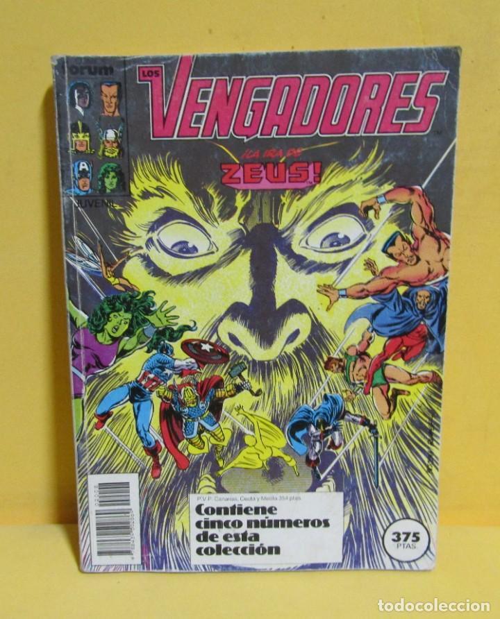 LOS VENGADORES COMICS FORUM RETAPADO CONTIENE DEL Nº 76 AL Nº 80 AÑOS 80 (Tebeos y Comics - Forum - Retapados)