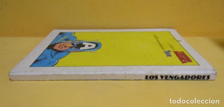 Cómics: LOS VENGADORES COMICS FORUM RETAPADO CONTIENE DEL Nº 76 al nº 80 AÑOs 80 - Foto 2 - 145455650