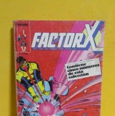 Cómics: FACTOR X CAPITAN COMICS FORUM RETAPADO CONTIENE DEL Nº 11 AL Nº 15 AÑOS 80. Lote 145456210