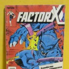 Cómics: FACTOR X CAPITAN COMICS FORUM RETAPADO CONTIENE DEL Nº 31 AL Nº 35 AÑOS 80. Lote 145456234