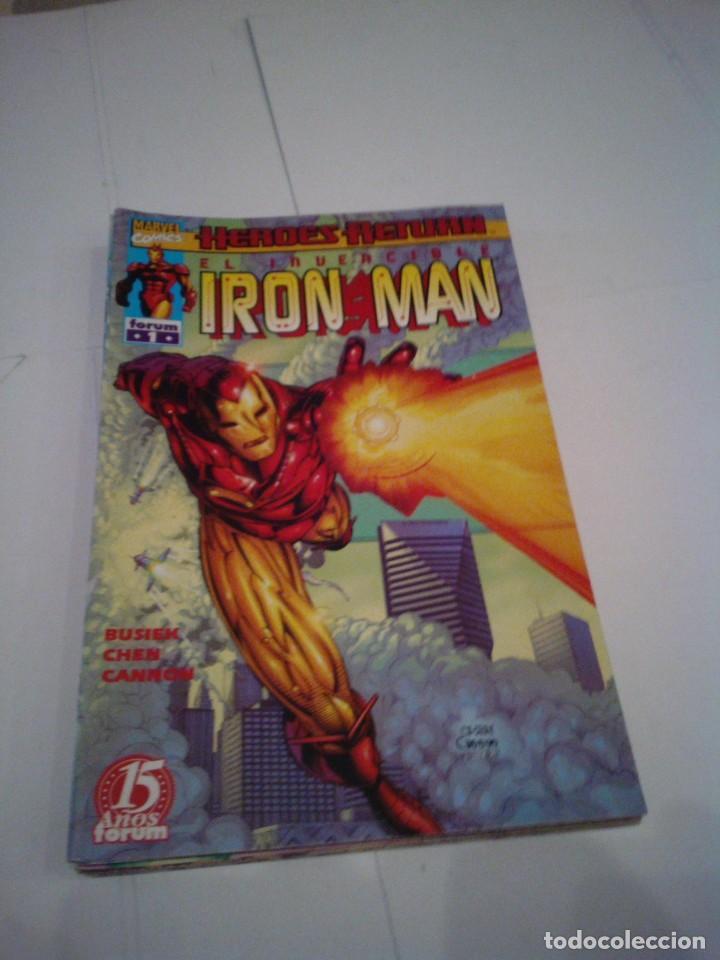 IRON MAN - HEROES RETURN - LOTE 9 NUEMROS - 1 AL 9 - BUEN ESTADO - FORUM - CJ 100 (Tebeos y Comics - Forum - Iron Man)