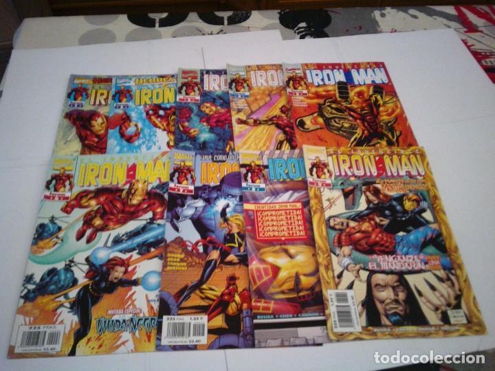 Cómics: IRON MAN - HEROES RETURN - LOTE 9 NUEMROS - 1 AL 9 - BUEN ESTADO - FORUM - CJ 100 - Foto 2 - 145489786