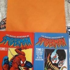 Cómics: LAS NUEVAS AVENTURAS DE SPIDERMAN 2 TOMOS COMPLETA VER FOTOS. Lote 145590902