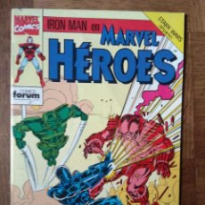 Cómics: MARVEL HEROES Nº 57, IRON-MAN, STARK WARS - FORUM MARVEL COMICS -. Lote 145620430