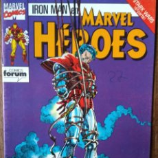 Cómics: MARVEL HEROES Nº 59, IRON-MAN, STARK WARS - FORUM MARVEL COMICS -. Lote 145620482