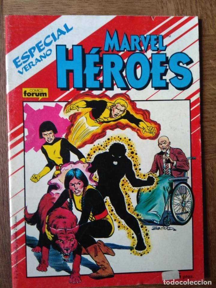 MARVEL HEROES ESPECIAL, NOVELA GRAFICA LOS NUEVOS MUTANTES (ORIGEN) - FORUM MARVEL COMICS - (Tebeos y Comics - Forum - Nuevos Mutantes)