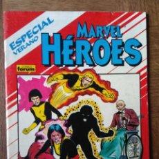 Fumetti: MARVEL HEROES ESPECIAL, NOVELA GRAFICA LOS NUEVOS MUTANTES (ORIGEN) - FORUM MARVEL COMICS -. Lote 145620726