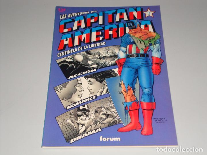 LAS AVENTURAS DEL CAPITAN AMERICA CENTINELA DE LA LIBERTAD 3 (Tebeos y Comics - Forum - Prestiges y Tomos)