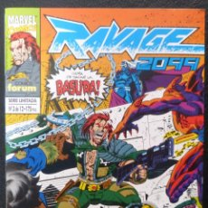 Cómics: COMICS RAVAGE 2099, NUMERO 3 DE 12,STAN LEE,1994,MARVEL COMICS, FORUM. Lote 145660294