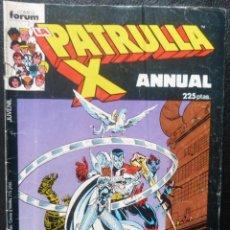 Cómics: COMIC PATRULLA X ANNUAL,ESPECIAL VERANO,1987,COMICS FORUM. Lote 145707074