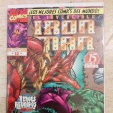 Cómics: HEROES REBORN: IRON MAN #12 (ÚLTIMO NÚMERO). Lote 145753662