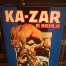 Cómics: KA-ZAR EL SALVAJE-RETAPADO CON LA OBRA COMPLETA. Lote 145780412