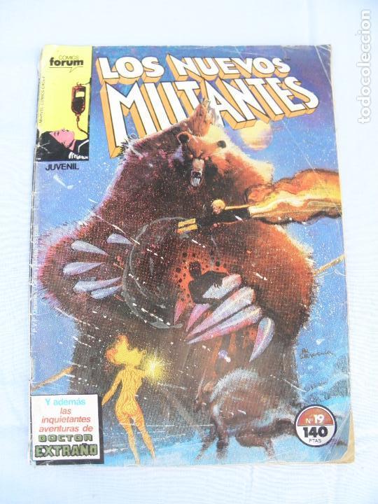 CÓMIC LOS NUEVOS MUTANTES Nº 19, FORUM (Tebeos y Comics - Forum - Nuevos Mutantes)